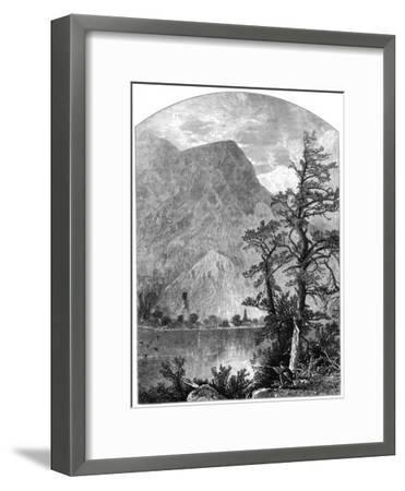 View of a Spur of the Blue Mountains, Delaware Water Gap, New Jersey, USA, 1877--Framed Giclee Print