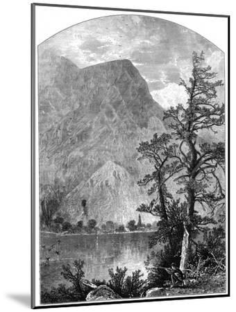 View of a Spur of the Blue Mountains, Delaware Water Gap, New Jersey, USA, 1877--Mounted Giclee Print