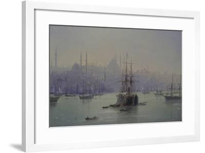 Golden Horn, 1895-Ivan Konstantinovich Aivazovsky-Framed Giclee Print