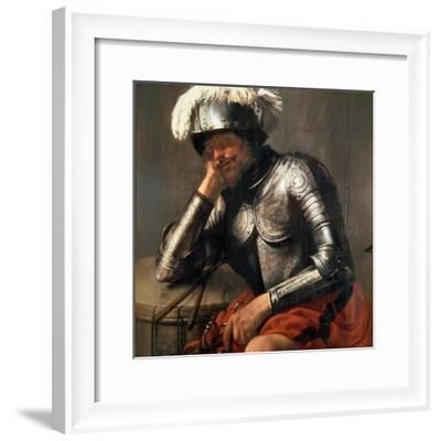 Mars Asleep, 1629-Hendrick Jansz Terbrugghen-Framed Giclee Print
