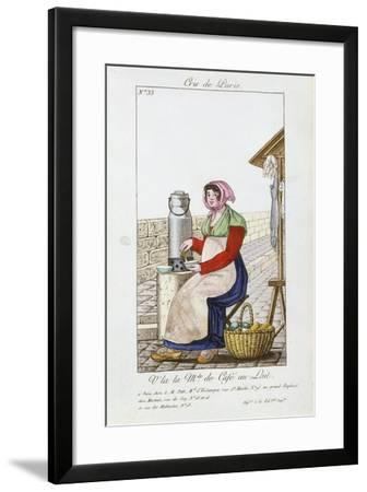 Café-Au-Lait Seller, 1826--Framed Giclee Print