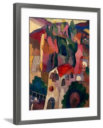 Poplars, 1916-Aristarkh Vasilyevich Lentulov-Framed Giclee Print