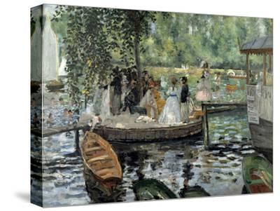 La Grenouillère, 1869-Pierre-Auguste Renoir-Stretched Canvas Print