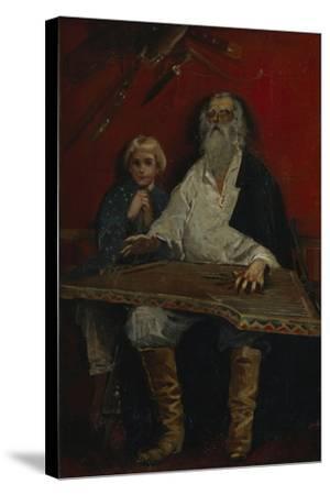 The Gusli Player-Andrei Petrovich Ryabushkin-Stretched Canvas Print