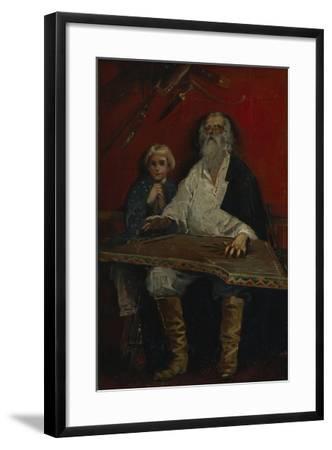 The Gusli Player-Andrei Petrovich Ryabushkin-Framed Giclee Print
