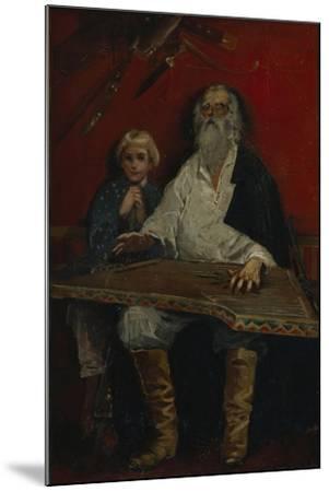 The Gusli Player-Andrei Petrovich Ryabushkin-Mounted Giclee Print