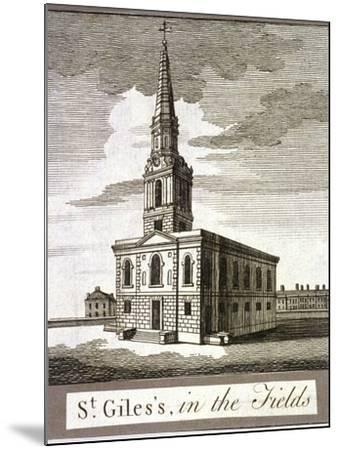 St Giles in the Fields, Holborn, London, C1750--Mounted Giclee Print