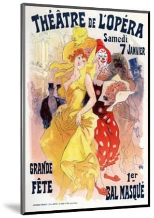 Théatre De L'Opéra, Bal Masqué, 1898-1899-Jules Ch?ret-Mounted Giclee Print