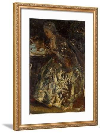 The Little Marquise-Jacob Maris-Framed Giclee Print