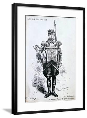 Bugler, 4th Regiment of the French Foreign Legion, 20th Century--Framed Giclee Print