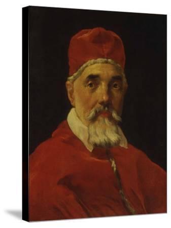 Portrait of Pope Urban VIII-Gianlorenzo Bernini-Stretched Canvas Print