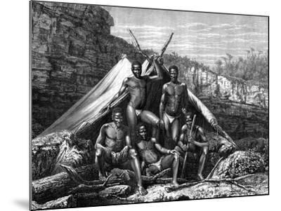 Bassoutos, South Africa, 19th Century- St de Dree-Mounted Giclee Print
