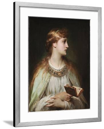 Ophelia, Ca 1864-Frank Dicksee-Framed Giclee Print
