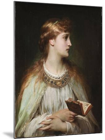 Ophelia, Ca 1864-Frank Dicksee-Mounted Giclee Print