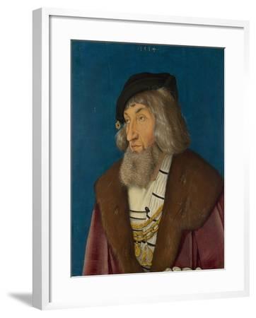 Portrait of a Man, 1514-Hans Baldung-Framed Giclee Print