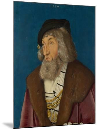 Portrait of a Man, 1514-Hans Baldung-Mounted Giclee Print
