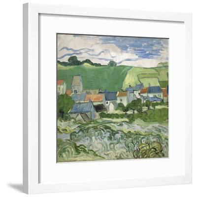 View of Auvers, 1890-Vincent van Gogh-Framed Giclee Print