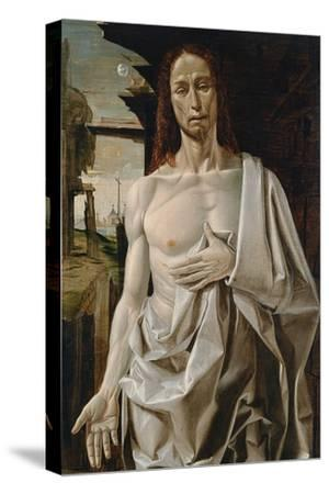 The Risen Christ- Bramantino-Stretched Canvas Print
