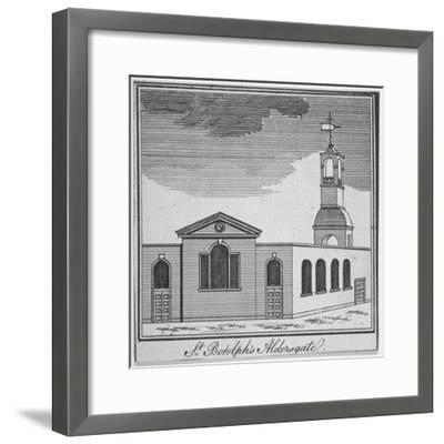 North-East View of the Church of St Botolph Aldersgate, City of London, 1750--Framed Giclee Print