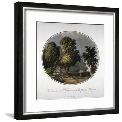 View of the Powder Magazine in Hyde Park, Westminster, London, 1791--Framed Giclee Print