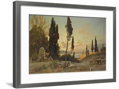 Views across the Bosphorus, Constantinople-Hermann David Salomon Corrodi-Framed Giclee Print