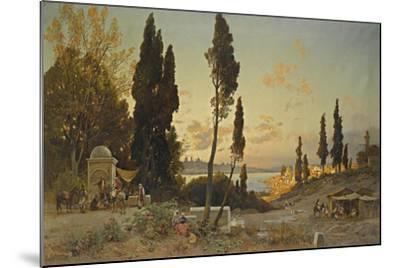 Views across the Bosphorus, Constantinople-Hermann David Salomon Corrodi-Mounted Giclee Print