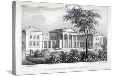 View of the London Orphan Asylum at Clapton, Hackney, London, C1835-Dean and Munday-Stretched Canvas Print