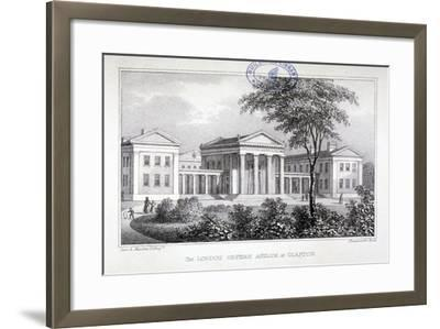 View of the London Orphan Asylum at Clapton, Hackney, London, C1835-Dean and Munday-Framed Giclee Print