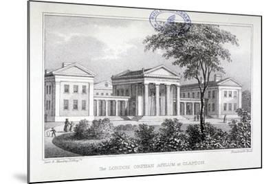 View of the London Orphan Asylum at Clapton, Hackney, London, C1835-Dean and Munday-Mounted Giclee Print