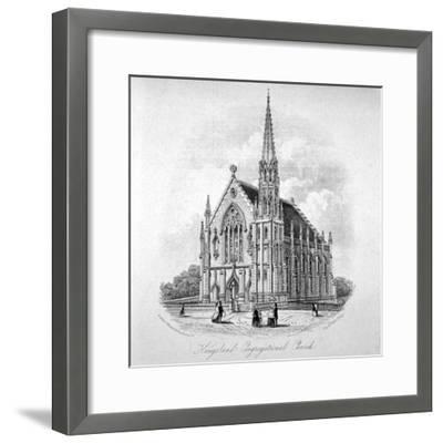 Kingsland Congregational Chapel, Kingsland Road, Hackney, London, 1853--Framed Giclee Print