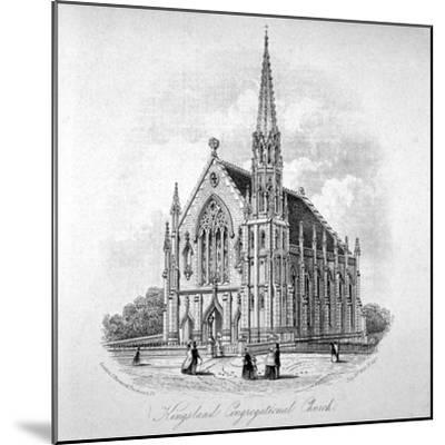 Kingsland Congregational Chapel, Kingsland Road, Hackney, London, 1853--Mounted Giclee Print