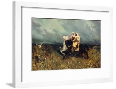 Bedouins-Vasilii Kotarbinsky-Framed Giclee Print