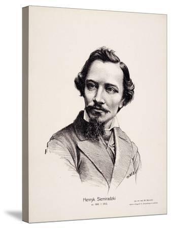Henryk Siemiradzki (1843-190), 1917-Wladyslaw Barwicki-Stretched Canvas Print