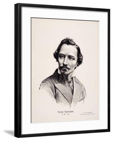 Henryk Siemiradzki (1843-190), 1917-Wladyslaw Barwicki-Framed Giclee Print