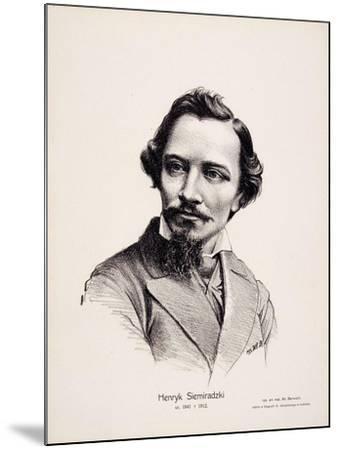 Henryk Siemiradzki (1843-190), 1917-Wladyslaw Barwicki-Mounted Giclee Print