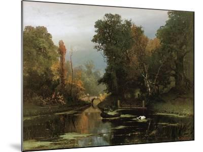 Overgrown Pond (Gatchina Par), 1878-Juli Julievich Klever-Mounted Giclee Print