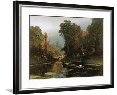 Overgrown Pond (Gatchina Par), 1878-Juli Julievich Klever-Framed Giclee Print