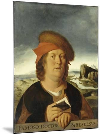 Portrait of Paracelsus-Quentin Massys-Mounted Giclee Print