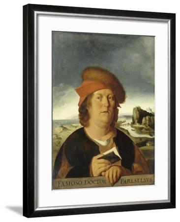 Portrait of Paracelsus-Quentin Massys-Framed Giclee Print