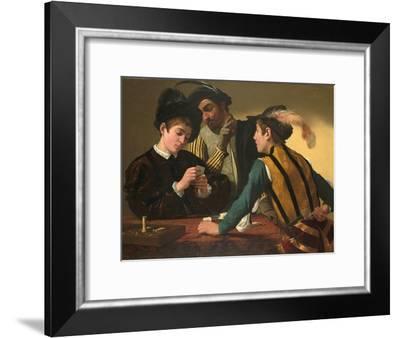 The Cardsharps-Caravaggio-Framed Giclee Print