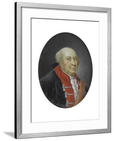 Frederick II of Prussia, 18th Century--Framed Giclee Print