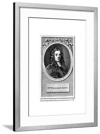 William King, English Poet--Framed Giclee Print