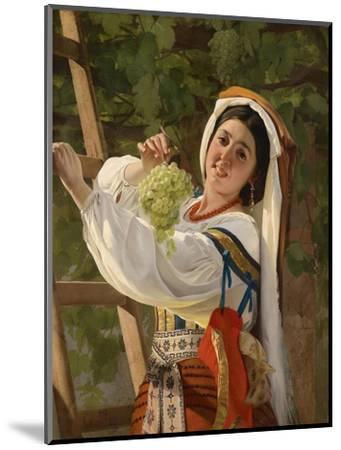 A Laughing Girl in South Italian Dress, 1857-Yevgraf Semyonovich Sorokin-Mounted Giclee Print
