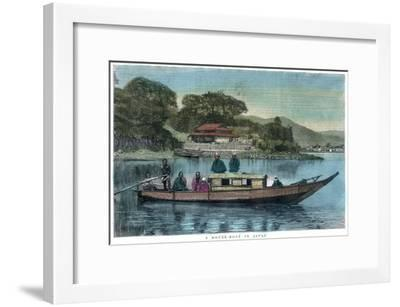 A House-Boat in Japan, 1888--Framed Giclee Print