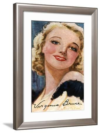 Virginia Bruce, (1910-198), American Actress and Singer, 20th Century--Framed Giclee Print