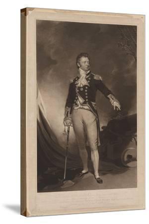 Sir Philip Bowes Vere Broke (1776-184), 1816-Samuel Lane-Stretched Canvas Print