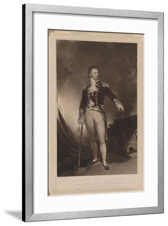 Sir Philip Bowes Vere Broke (1776-184), 1816-Samuel Lane-Framed Giclee Print