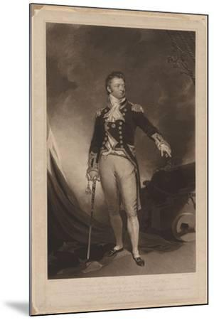 Sir Philip Bowes Vere Broke (1776-184), 1816-Samuel Lane-Mounted Giclee Print