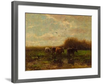 Cows at Evening-Willem Maris-Framed Giclee Print