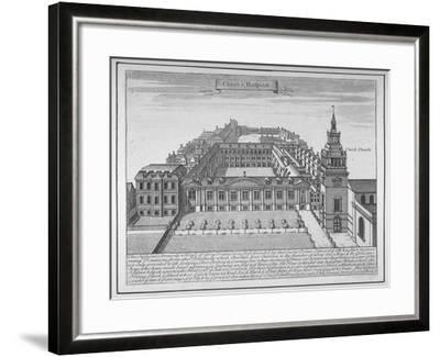 Christ's Hospital, City of London, 1700--Framed Giclee Print